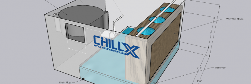 DIY Portable Evaporative Cooler