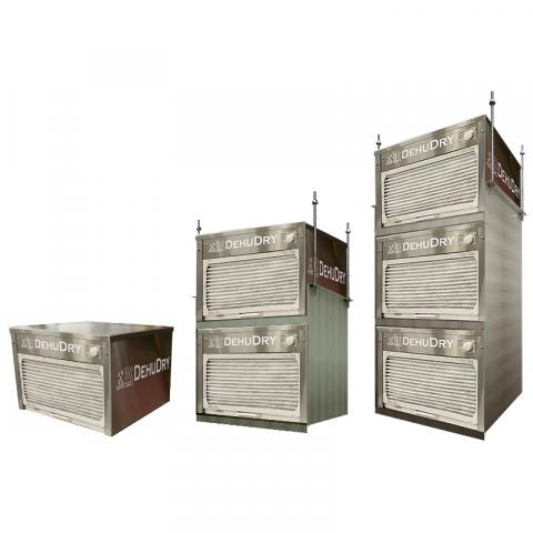 DehuDRY - High Capacity Scalable Dehumidifiers