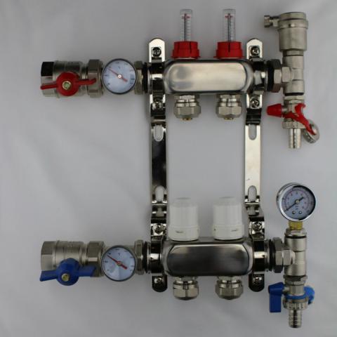 Port-All Manifolds - Brass Manifolds For PEX