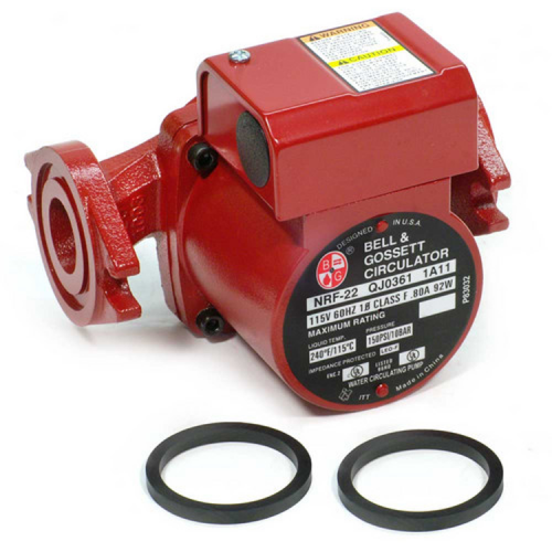 B&G - Low Head Cold/Hot Water Circulating Pump (BG-NRF-22)